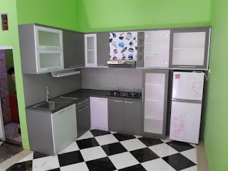 Kitchen Set Bahan HPL Tidak Mudah Mengelupas Kitchen Set Semarang