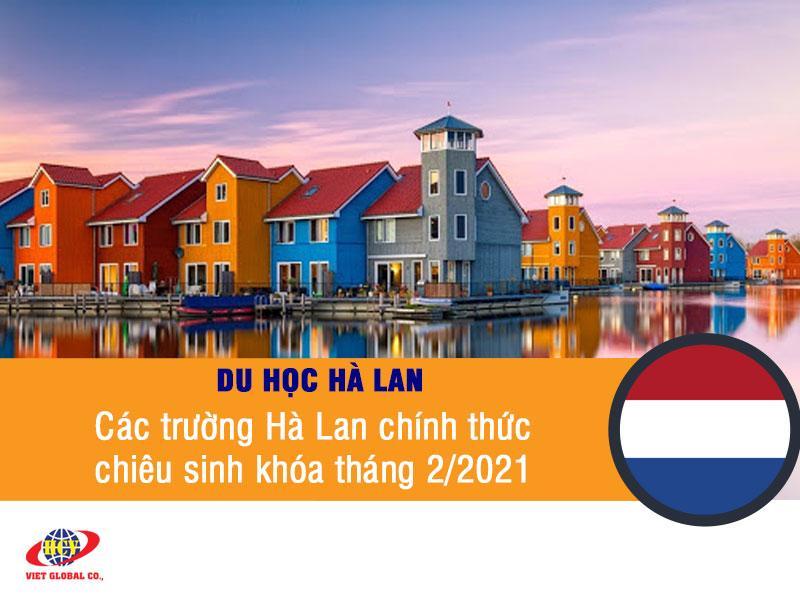 Du học Hà Lan: Các trường Hà Lan chính thức chiêu sinh cho khóa tháng 2/2021