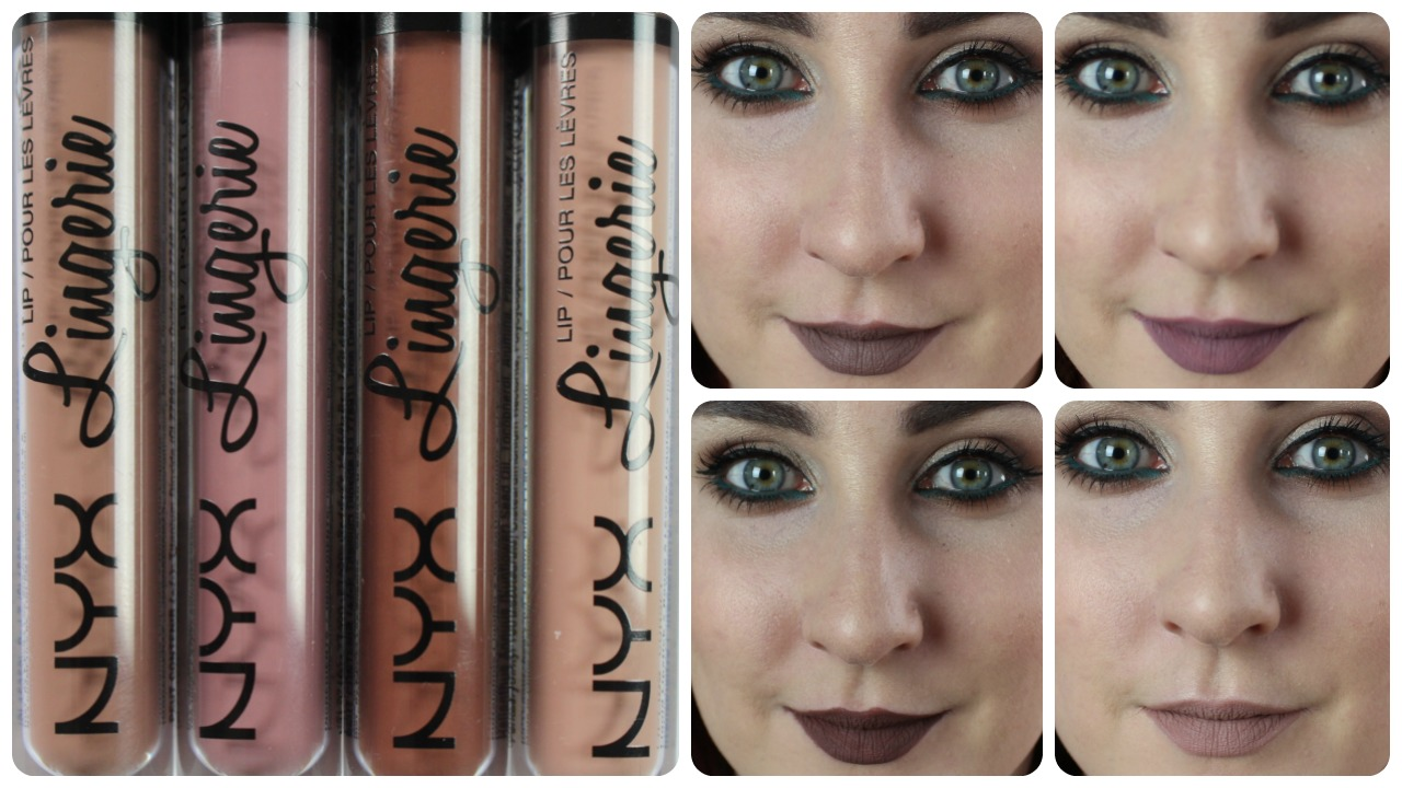 NYX Lip Lingerie Review, Swatches & Time Test 💋