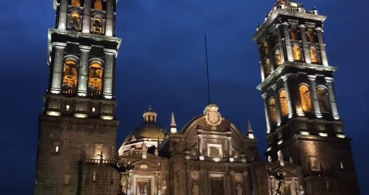 Catedral en Centro de Puebla