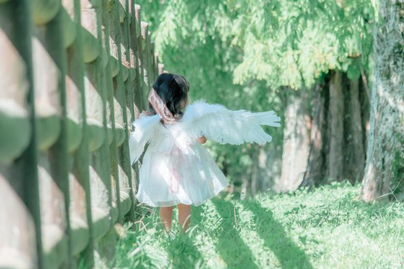 Rico Nanao fotografia photoshop surreal crianças contos de fada fofura meigo meninas