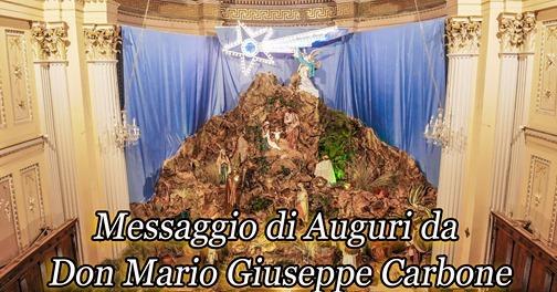 Unità Pastorale - Messaggio di Auguri da Don Mario Giuseppe Carbone