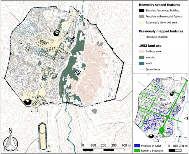 Scientists use lasers to map hidden urban landscape of Jordan's ancient Jerash