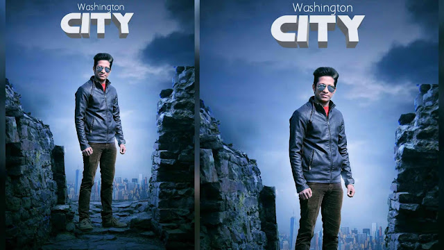 Picsart Editing Washington City Photo Manipulation