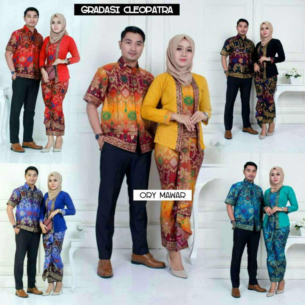 Batik Couple Tasya Hitam