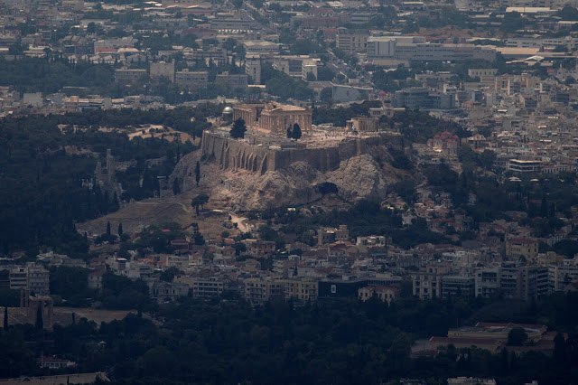 Climate change is taking its toll on Greek monuments, say scientists