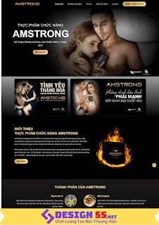 Template Blogspot Landing Page Thực Phẩm Chức Năng