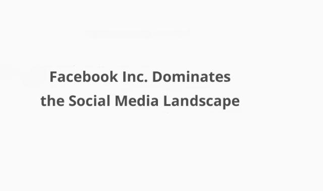 Facebook's Social Media Domination