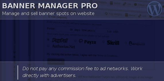 WordPress Ad Banner Manager Pro Plugin