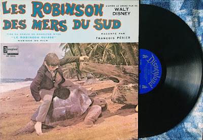 French Canadian Disneyland Record Swiss Family Robinson, Front Cover