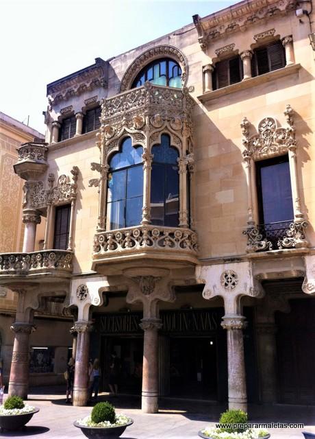 edificios modernistas en Reus Tarragona