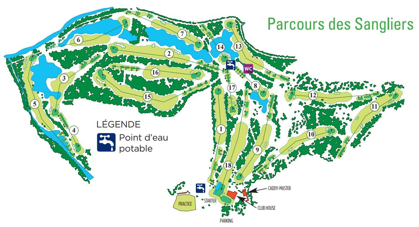 Parcours des Sangliers - Golf Club de Lyon