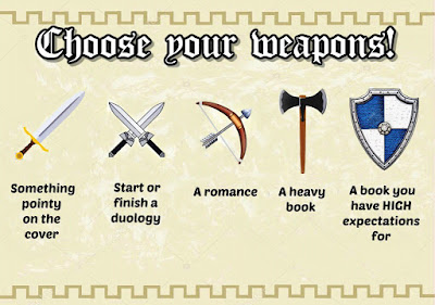 Medieval-A-Thon Prompts - Choose Your Weapons