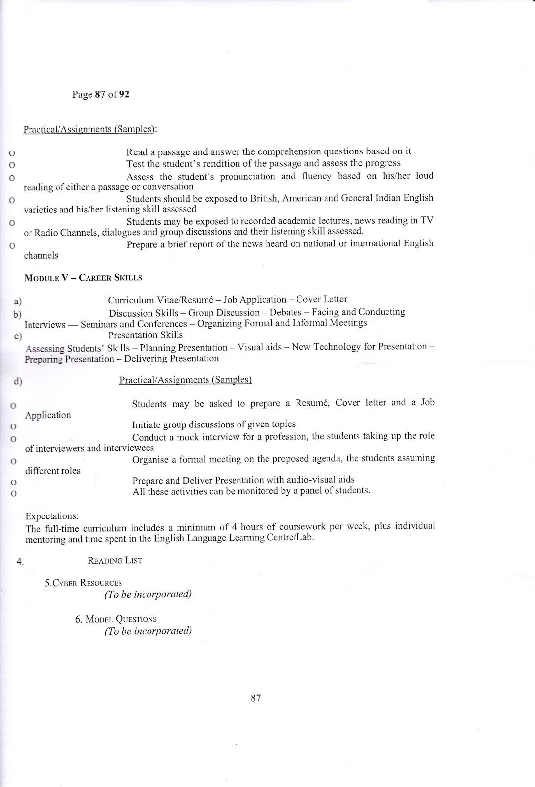 Readings Free English Literature Notes Calicut University English Open Course