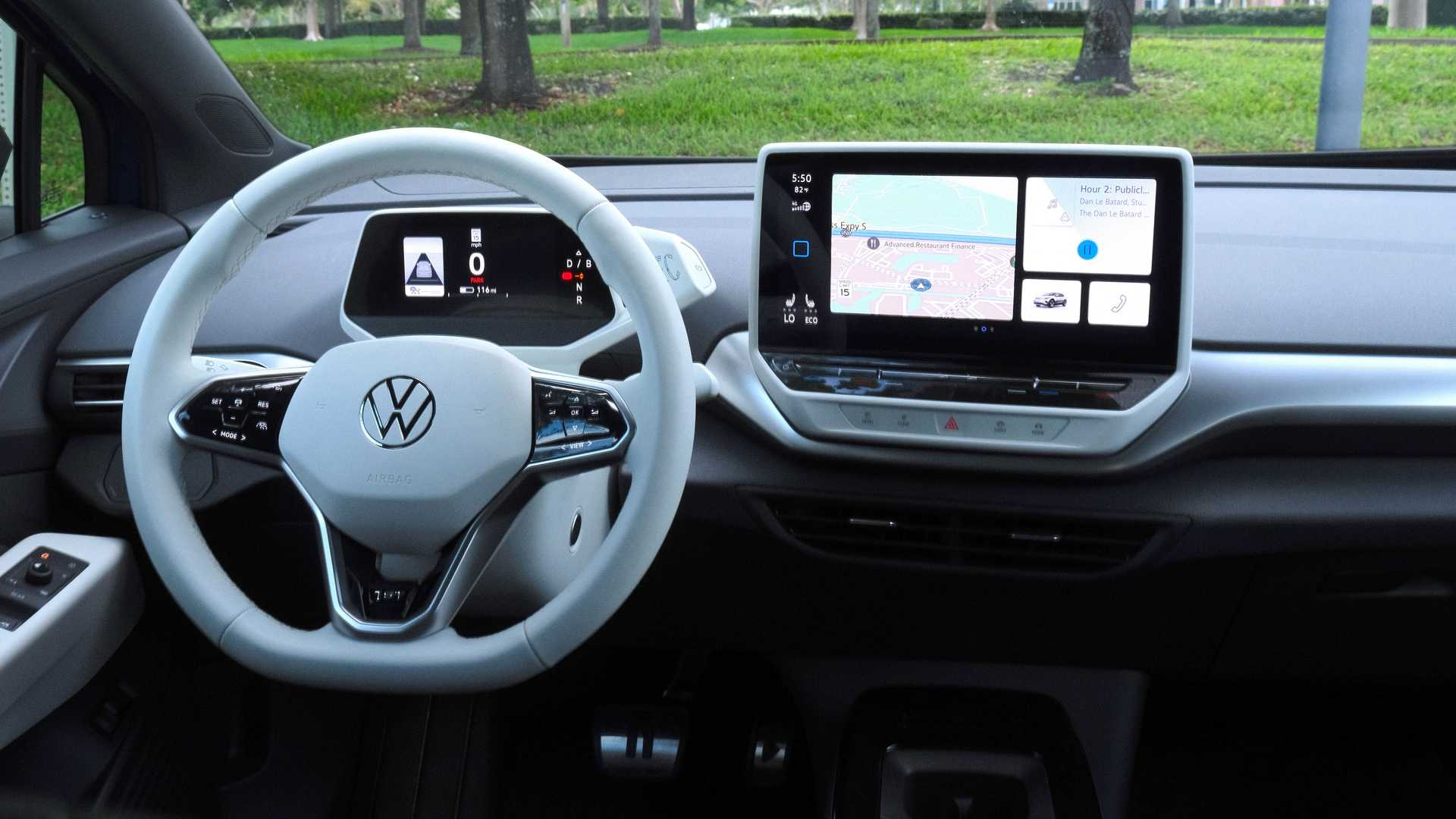 فولكس واجن آي دي. 4 الإصدارة الأول 2021 - مقصورة القيادة