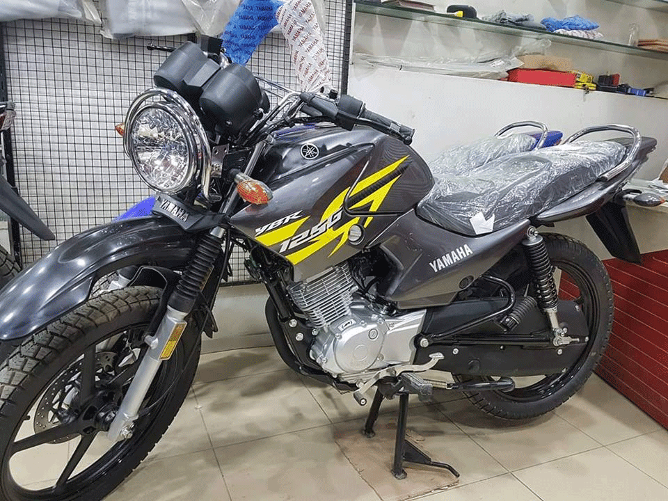 Yamaha Introduces  Metallic Grey Variant of YBR 125G