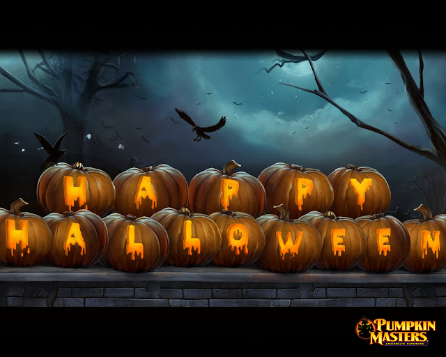 Happy halloween 2017 3d  HD wallpaper desktop background images
