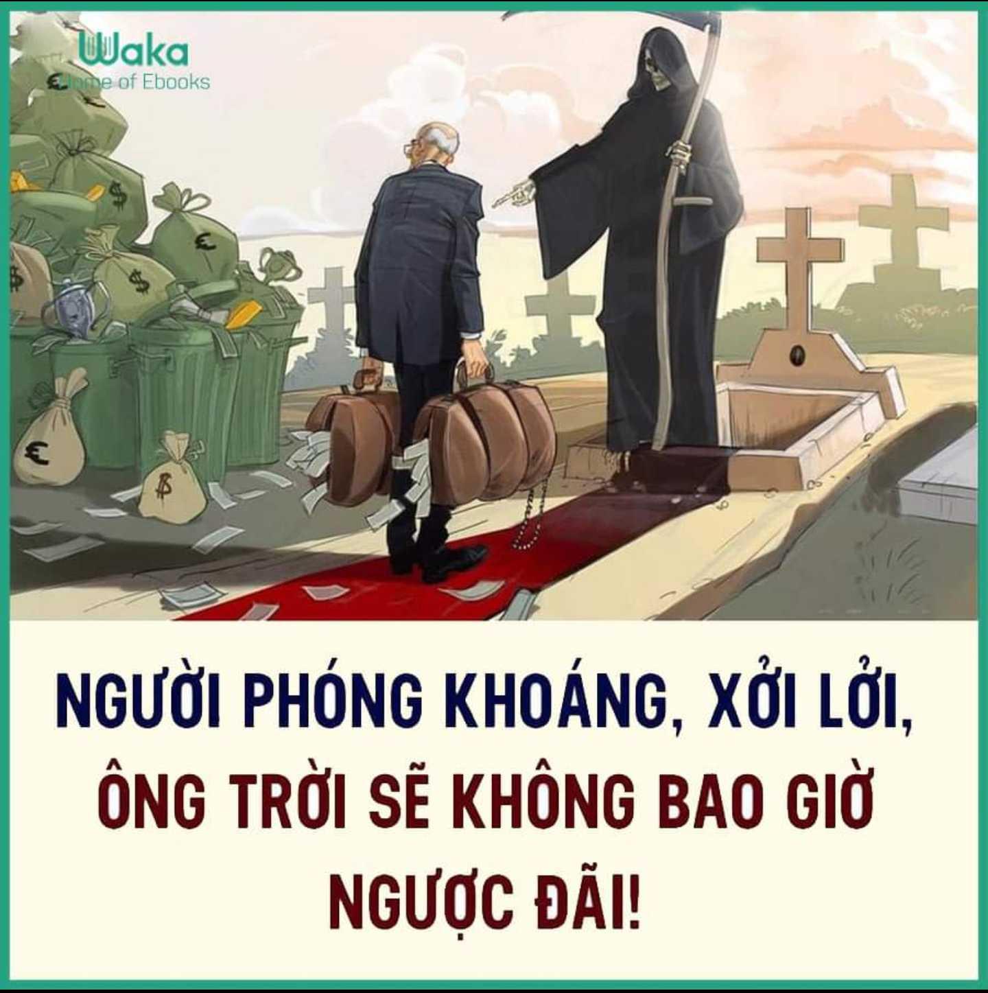 NGƯỜI PHÓNG KHOÁNG, XỞI LỞI, ÔNG TRỜI SẼ KHÔNG BAO GIỜ NGƯỢC ĐÃI!!!!
