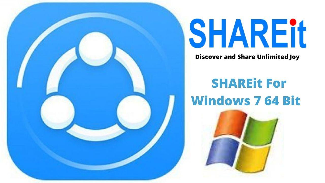 Download SHAREit For Windows 7 64 Bit Latest Version