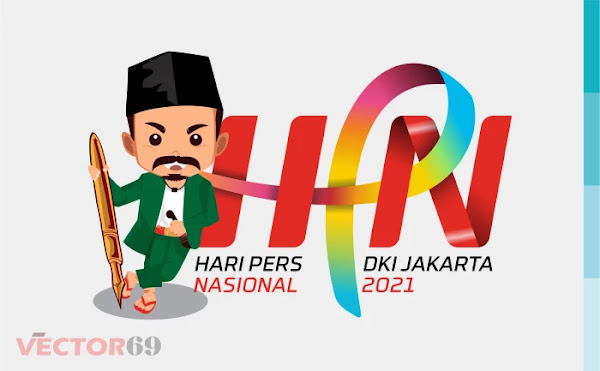 Hari Pers Nasional 2021 DKI Jakarta Logo - Download Vector File SVG (Scalable Vector Graphics)