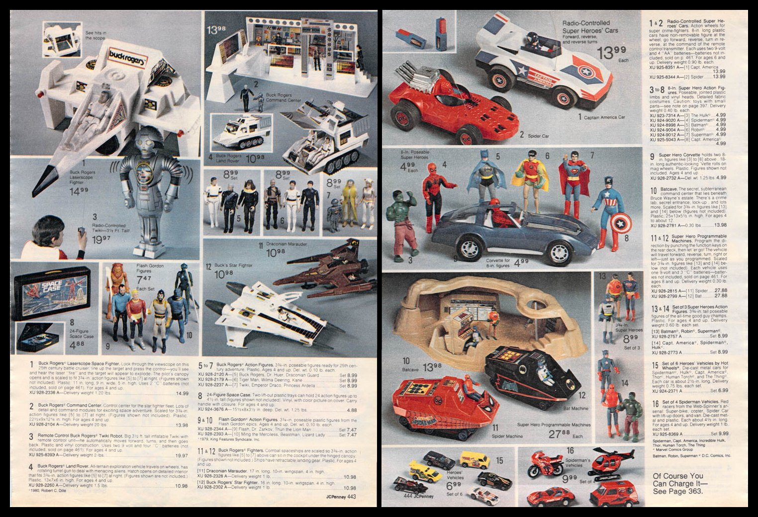 MONTGOMERY WARD 1981 CHRISTMAS CATALOG 80s TOYS, STAR WARS, FISHER PRICE+++