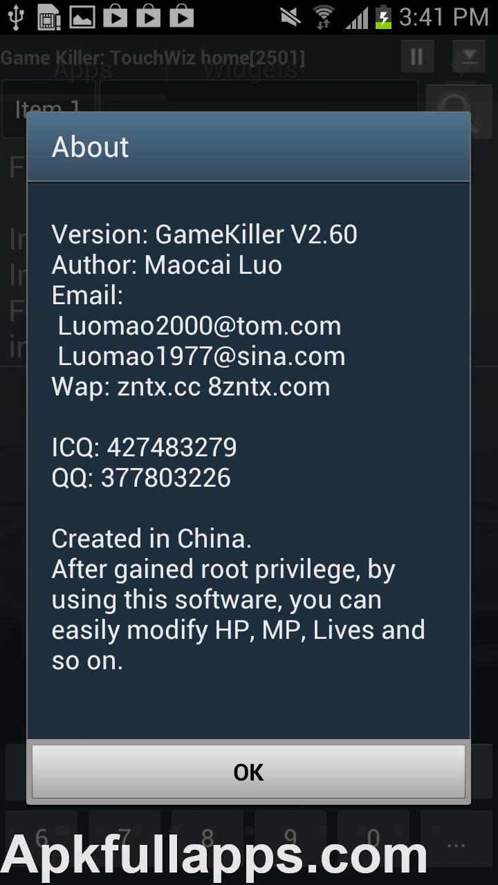 game killer 2.60 full apk free download