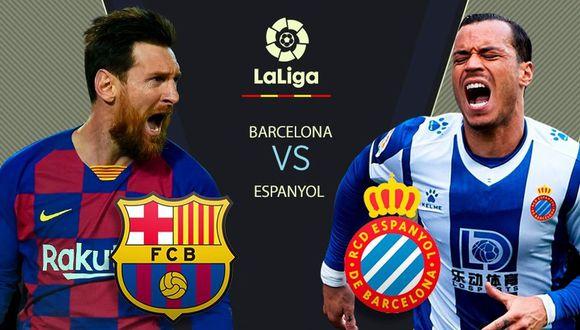 Español Vs Barcelona EN VIVO y EN DIRECTO vía Movistar y ESPN 2 por LaLiga Santander