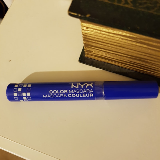 NYX color mascara blue | Almost Posh