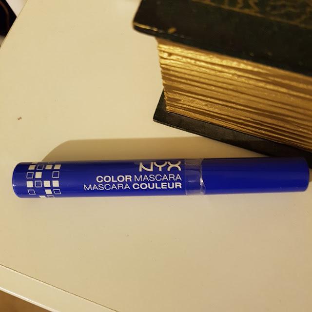 NYX color mascara blue | Almost Posh