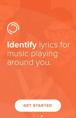 Secara otomatis Memutar Musik dengan Lirik di iPhone