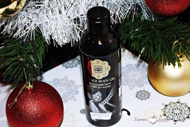 Spa Vintage Body Oil Kaszmirowy olejek do kąpieli