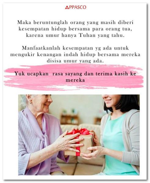 Kesempatan merawat orang tua