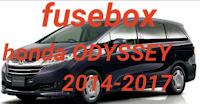 fusebox HONDA ODYSSEY