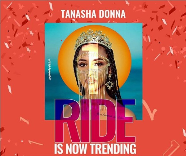 Tanasha Donna Ft Khaligraph Jones – Ride MP3 Download audio
