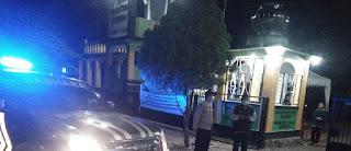 Jaga Sitkamtibmas, Polsek Maiwa Laksanakan Patroli Blue light