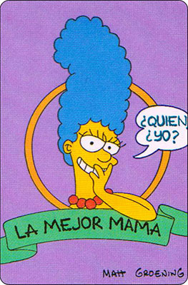 Bollycao The Simpsons Cromo 48