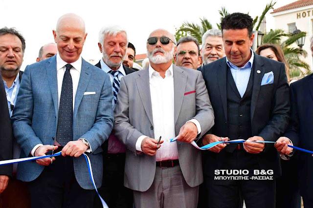Εγκαινιάσθηκε από τον Υπουργό Ναυτιλίας Π. Κουρουμπλή το 5ο Mediterranean Yacht Show στο Ναύπλιο (βίντεο)