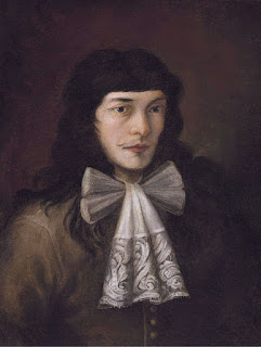 Magnasco's self-portrait, which he painted as a young man