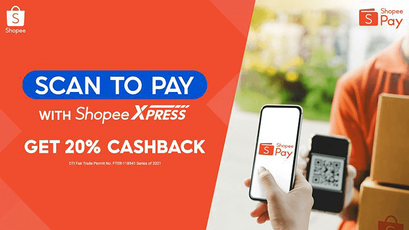 ShopeePay now has Scan-to-Pay function on COD transactions