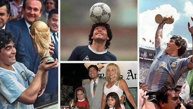 أحداث كبيرة شهدها نجم الأرجنتين.مارادونا