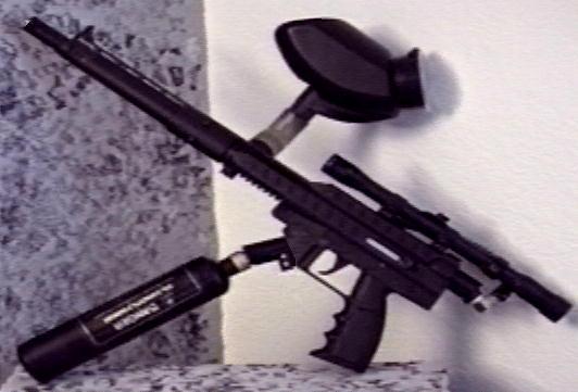 stingray paintball rifle