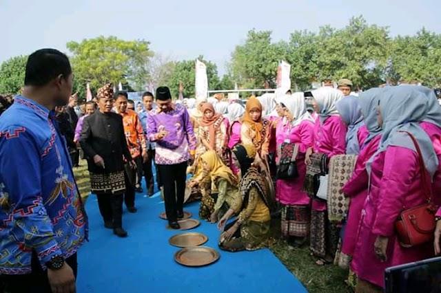 Bupati Lampura Hadiri Acara Puncak Harganas Ke-XXVI Tingkat Provinsi Lampung