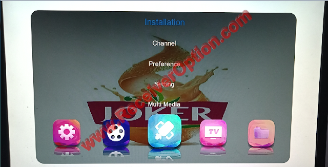 JOKER 1506TV 512 4M NEW SOFTWARE WITH ECAST & ORANGE IPTV OPTION