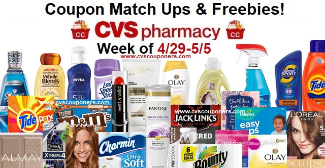 http://www.cvscouponers.com/2018/04/cvs-coupon-match-ups-freebies-429-55.html