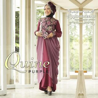 Ayyanameena Quine - Purple