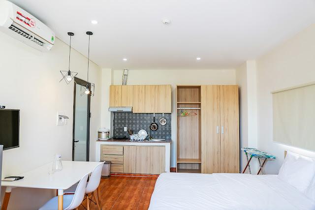 Nội thất có sẵn khi thuê căn hộ chung cư tại Đà Nẵng