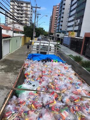 Policiais Civis de Alagoas e PRFs se unem em Campanha às vítimas da enchente em  Santana do Ipanema