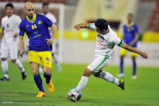 موعد مباراة النصر وذوب آهن أصفهان اليوم في دوري أبطال آسيا