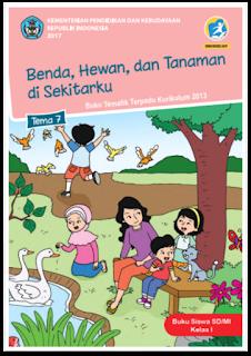 download gratis buku tematik kelas 1 tema 7