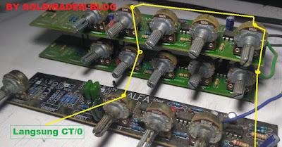 mengatasi gangguan dengung pada mixer rakitan